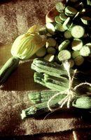 Hvordan Grow Organic Zucchini