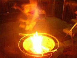 Hvordan lage en Portable Fire Pit