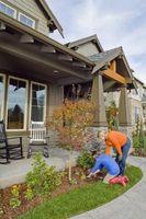 Hvordan Landscape en stor front yard
