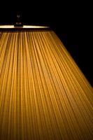 Hvordan kan jeg rengjøre eller vaske mine Lampeskjermer?
