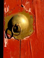 Slik fjerner gammel maling Fra Brass Door Knotter