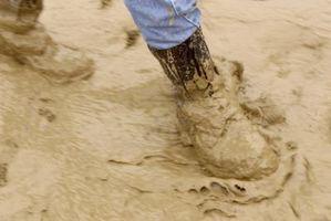 Hvordan Clean Heavy Mud & Clay Off av Boots
