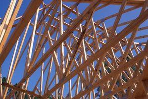 Hvordan Level en Wood Frame House på blokker