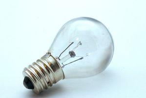 Hvordan holde Lyspærer fra stikker