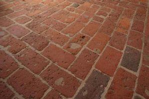 Polyuretan på Brick Gulv