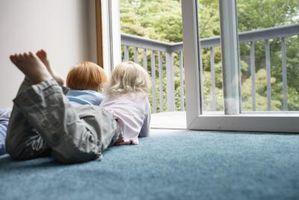 Hvordan childproof en balkong