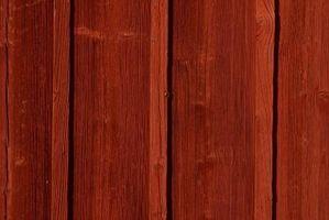 Slik Care for Cedar Wood Med Utvendig olje behandlinger