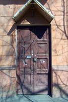 Hvordan å reparere en Utvendig Tre Door