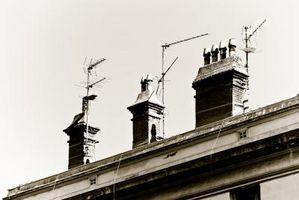 Hvordan montere en antenne til Roof