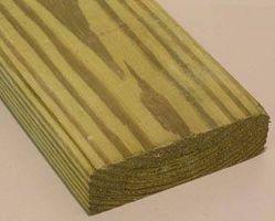 Slik Paint Grønn Behandlet Wood