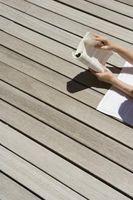 Hvordan bruke linolje på Decks
