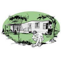 Legge Isolasjon til et Mobile Home Roof