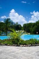 Hvordan Landscape Rundt svømmebasseng