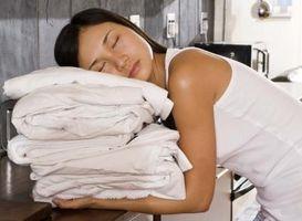 Hvordan Bleach Whites i vaskemaskin