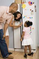 Hvordan du oppbevarer varme eller kalde Kokt mat i kjøleskapet