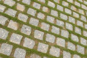 Slik installerer Patio Rock on Grass