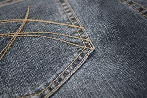 Hvordan Clean acrylmaling Fra Jeans