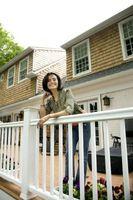 Gjør-det-selv Wood rekkverk for en veranda