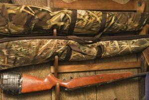 Hjemmelaget Hjort Leg Gun Rack