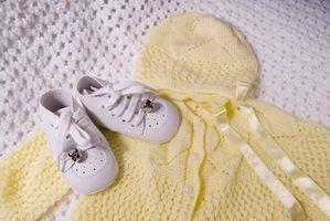 Hvite klær blir gule