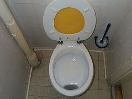Toalettet skyller dårlig