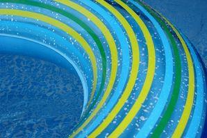 Hvordan lage den bakkenivå for Easy Set Pool