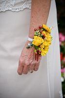 Vanlige corsage blomster