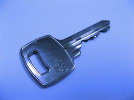 Forskjellige typer Blanke Keys