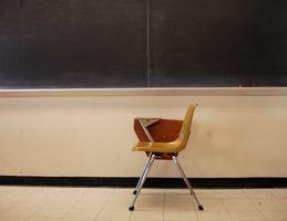 Hvordan finne den Målinger av et klasserom