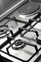 Slik fjerner Burnt-on Water på keramisk komfyr Tops