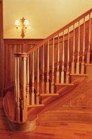 Gjør det selv Wood Stair rekkverk