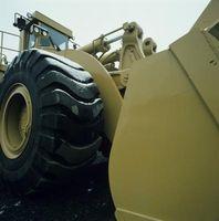 Hvordan Level grus med traktor