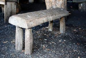 Å gjøre en Wood Bench