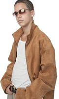 Slik fjerner Candle Wax Fra en Børstet Leather Coat