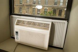 Hva som vil føre en Window Unit AC å lekke på innsiden?