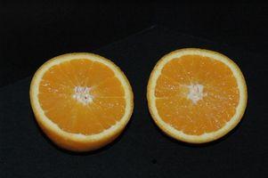 Typer av Dwarf appelsintrær