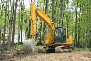 Utstyr for å bygge store Dugout Dammer