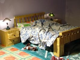 Verktøy for å plukke et soverom dørlås