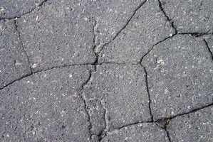 Reparasjon av sprekker betong
