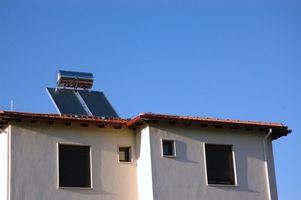 Hvordan å fornye Solar Powered vannvarmer