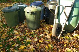 Hvordan lage en Small Kompost Pile