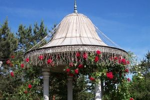 Best Klatre Roses for et lite Arbor