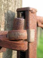 Slik fjerner Rust flekker fra Cotton