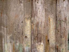Hvordan lage New Wood Look Gamle og Rough