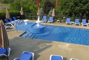 Stell av svømmehaller