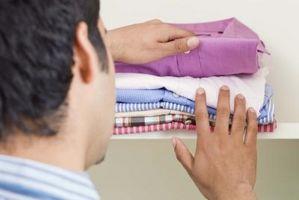 Brune flekker på klær etter vask