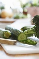 Hvordan Grow Agurker & Zucchini i verksted