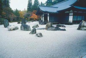 Hvordan Landscape Rundt Porches Med Rocks