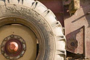 Hvordan å feste kjeden traktordekk