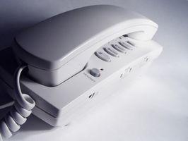 Hekte telefon veggkontakt